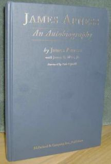 New clean, tight, inscribed and signed by James Arness, (Fine