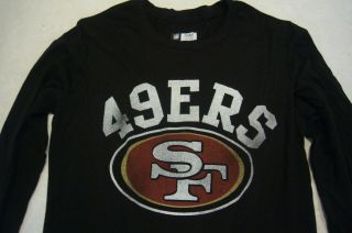 04 Ladies Women NFL Apparel San Fransisco 49ers Football Jersey Shirt