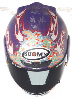Suomy Apex Spec 1R Flowers Full Face Motorcycle Helmet