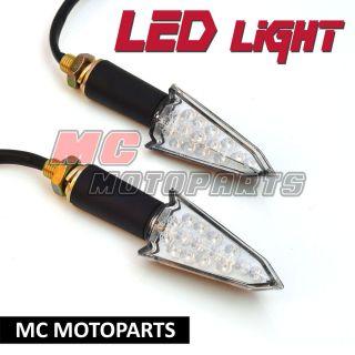 Arrow Style LED Turn Signal Light Indicators V Strom 650 1000 SV SFV