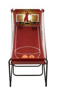 New Dual Electronic Indoor Basketball Game Arcade Quality Includes 6