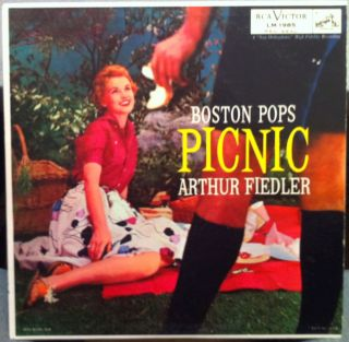 Arthur Fiedler Boston Pops Picnic LP VG SD LM 1985