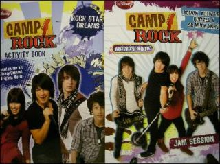 Camp Rock Activity Books Featuring Jonas Brothers 0766632180