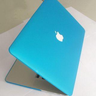 Matte Aqua Blue Hard Case Cover Shell for Apple New Retina MacBook Pro