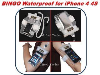 BINGO Waterproof iPhone 4 4S iPod Aqua Dry Bag Pouch Case Swim Beach