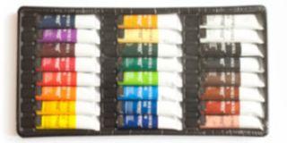 New 24pcs Artist Grade Oil Paints, Artist Grade Oil Color Set,24X12ml