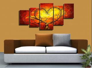 Modern Abstract Huge Wall Art Oil Painting Canvas No Framed