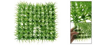 Man Made Plastic Aquarium Green Lawn Mat Grass Rug Pad