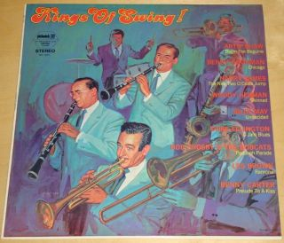 Various Jazz Artists Pickwick Record LP Artie Shaw Billy May