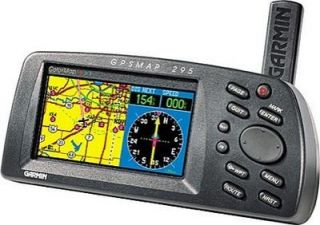 GARMIN GPS 295 COLOR AVIATION GPSMAP PILOT AVIONICS 296 396 196 96C 96
