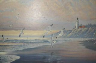 August Holland Asma Print from Sea to Shinning Sea Seascape Art New