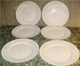 Vtg Arcopal France Dishes Service for 6 23 Pieces VNC