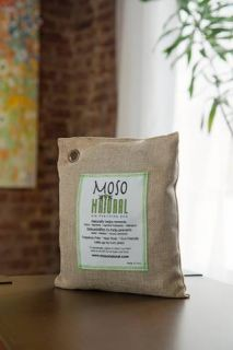 Moso Bag Bamboo Charcoal Natural Air Purifier 200 Gram