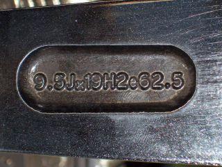 19 Aston Martin V8 Vantage Factory Titanium Wheels Bridgestone Tires