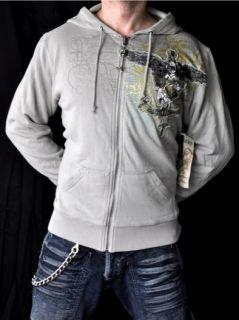 Monarchy Hoodie Jacket Emo UFC Roar UFC Cross Shirt L