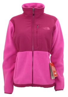 NEW North Face Womens DENALI fleece jacket PINK nwt size Large