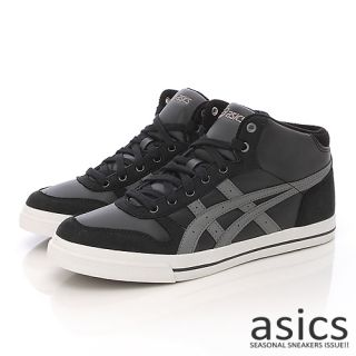 Brand New Asics Aaron MT Black Charcoal Grey Shoes 101