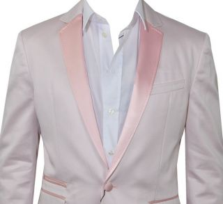 1000$ D&G DOLCE & GABBANA RUNWAY Tuxedo Blazer Jacket Veste Pink Rose