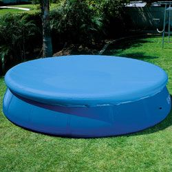 12 Round Intex Easy Set Swimming Pool Cover 58919