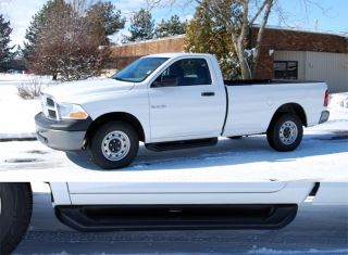 For Dodge RAM Running Boards Nerf Bars Steps 67068 Trim 2009 2012