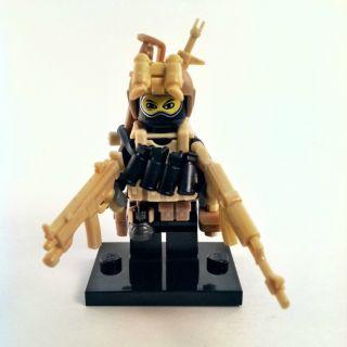 Custom Lego Minifig Military Army SWAT Minifigure