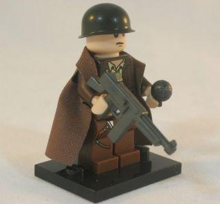LEGO US Army INFANTRY OFFICER Marine Corps USMC WW2 Military Figure