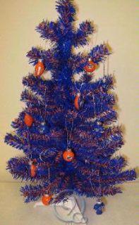 Gators 2 Foot Mini Artificial Christmas Tree + 12 Ornaments NEW