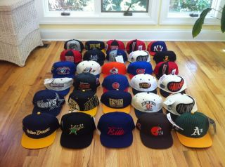 SNAPBACK HAT LOT SPORTS SPECIALTIES SCRIPT STARTER LOGO ATHLETIC