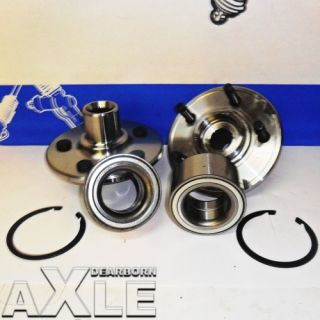 2002 2010 Ford Mercury SUV Wheel Hub Bearing Assembly Kit 4x4