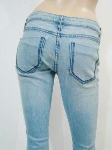 New Salt Works New York City Arona Boot Cut Low Rise Jeans 26 $175