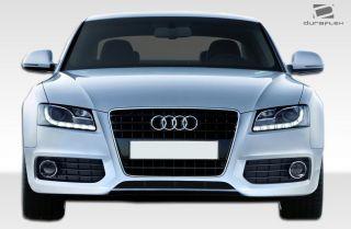 2008 2011 Audi A5 S5 Look Front Bumper (2 Pieces)   Duraflex
