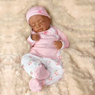 Ashton Drake So Truly Real Tiffany Baby Doll African American