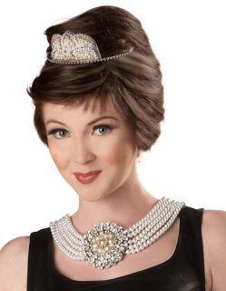 Audrey Hepburn Wig Halloween Holiday Costume Party