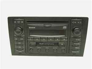 00 03 audi a8 s8 symphony cd player radio receiver oem