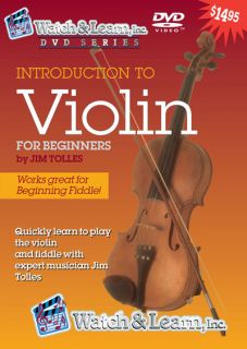 Violin DVD Video Lesson Learn Instruction Beginner More
