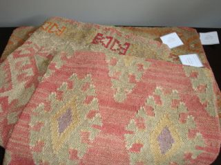 Pottery Barn Tribal Kilim Pillow Covers NWT Anita Amara Astara