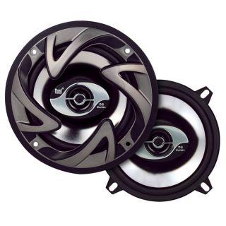 Pair of 100 Watt 5.25 2 Way Car Audio Stereo Speakers w/Dome Tweeters