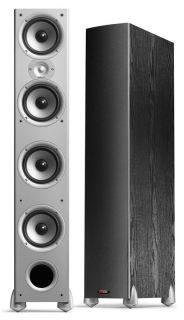 pair monitor 70 black tower speakers polk audio monitor series