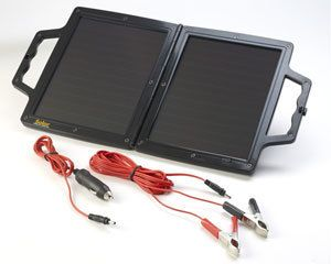 Watt 12V Volt Solar Panel Trickle Car Battery Charger