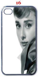 Audrey Hepburn Fans iPhone 4 4S Hard Case Assorted Style
