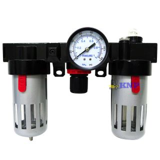 Air Regulator Control Unit Filter Lubrication for Air Compressor
