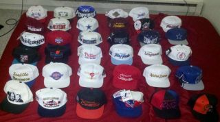 of 35 Snapback Starter Sports Specialties Logo Athletic Hat Cap