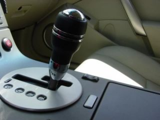 Momo Automatic Black Leather Shift Knob G35 350Z 5AT