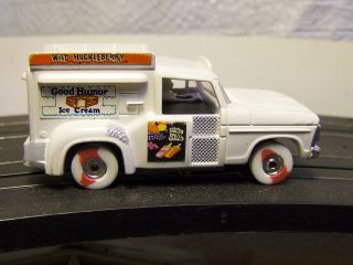 AURORA FORD F SERIES GOOD HUMOR ICE CREAM TRUCK TJET SLOT CAR CUSTOM