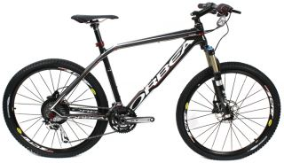 2011 ORBEA Alma s 30 USA 26 MTB XL Bike Carbon Fiber Black Complete