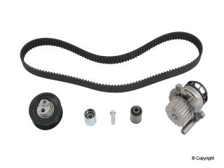 Quattro VW EOS GTI Jetta Engine Timing Belt Kit with Water Pump