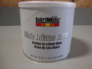 WHITE LITHIUM GREASE 1 LB BIG DOG HARLEY DAVIDSON CUSTOM AUTOMOTIVE