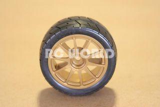 10 Car Tires Wheels Rims Package Gold Subaru Rally Wheels