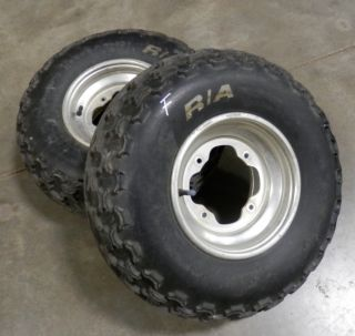 Yamaha Warrior Front Wheels Tires Banshee Raptor YFZ ATV