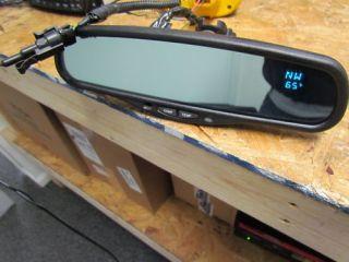 Gentex Auto Dim Rear View Mirror TEMPERATURE COMPASS TEMP silverado